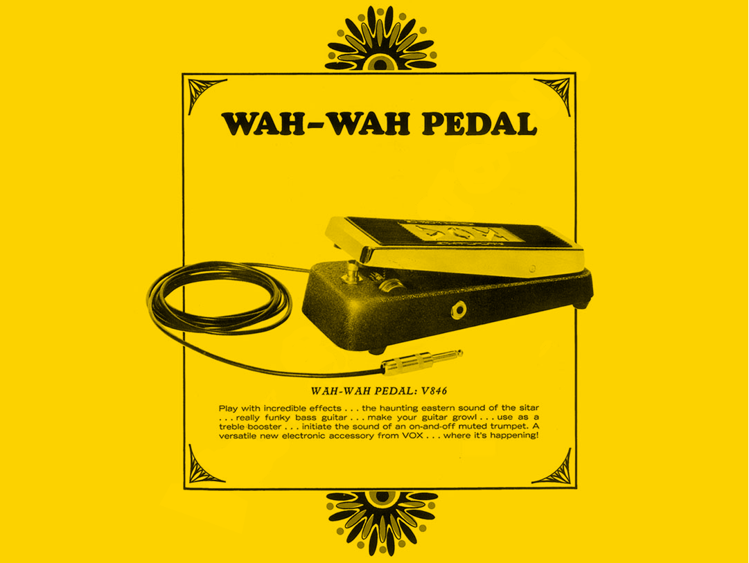 The Invention Of The Wah Wah Pedal