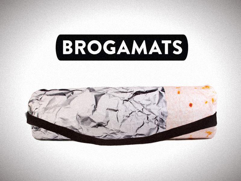 Brogamats: Yoga Mats for Dudes