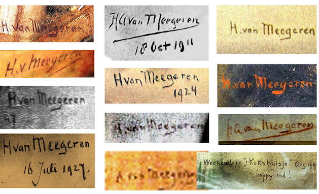 Famous signatures of famous people