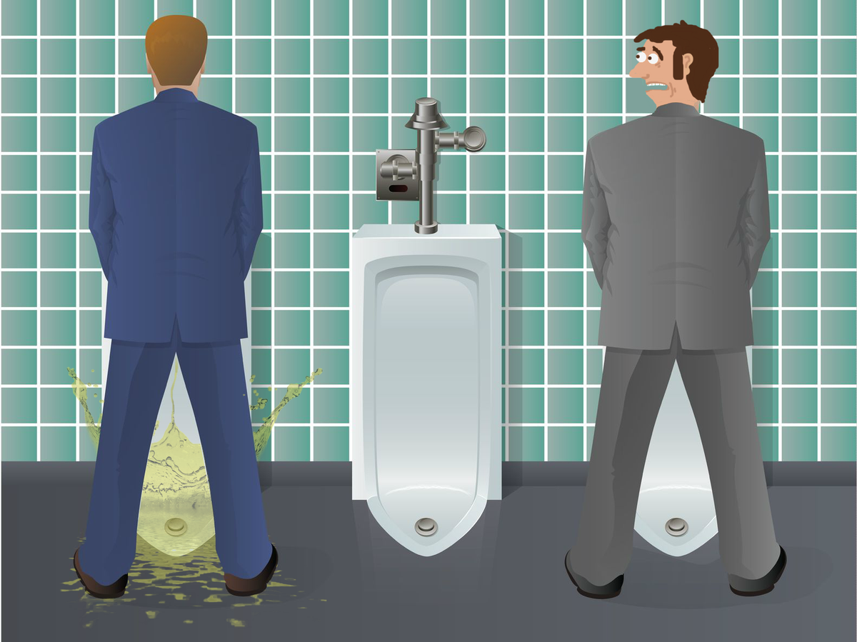 The Unfortunate Physics Of Male Urination