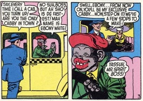 Image result for golden age comic book racism