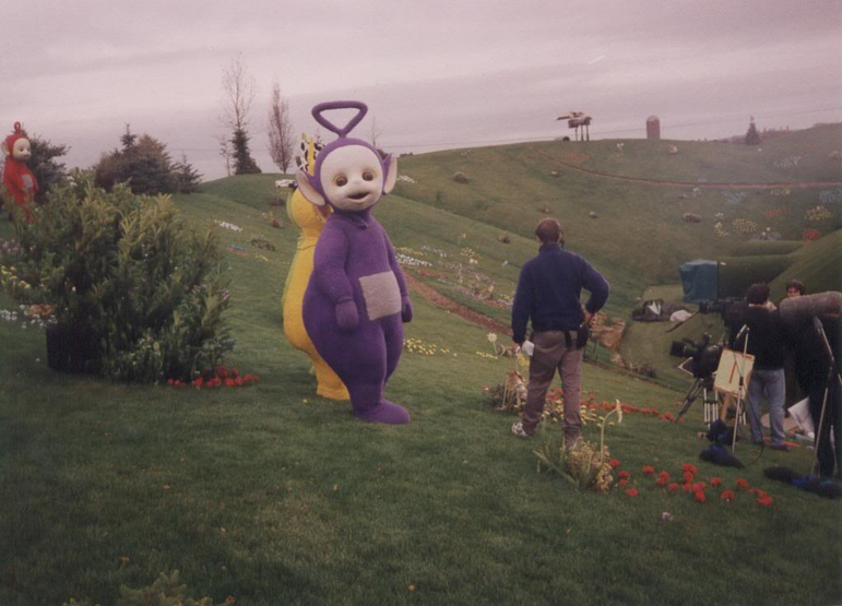 Dave Thompson  The original Tinky Winky